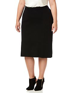 Black Label Sweater Skirt