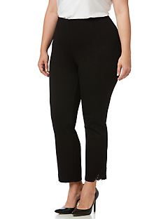 Black Label Lace Accent Pant