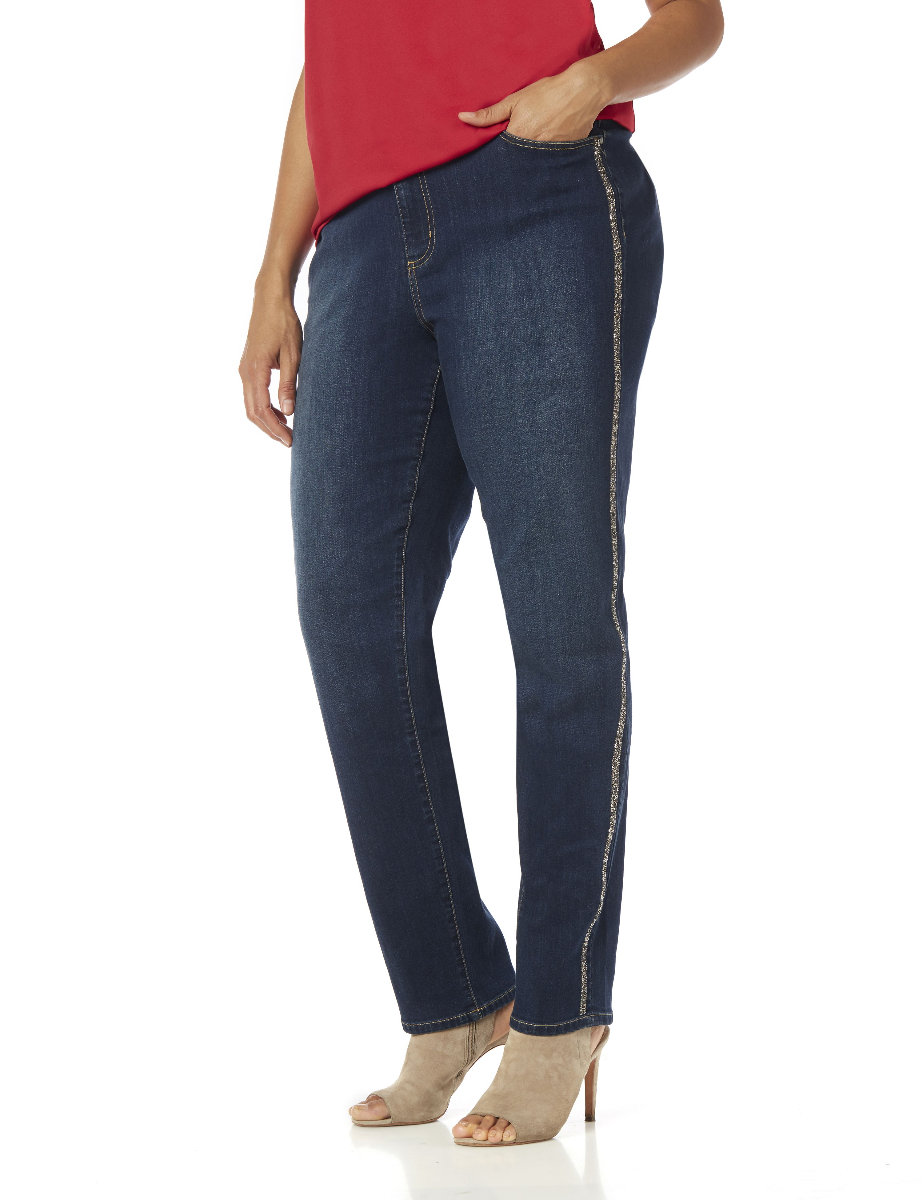 Sparkle Stripe Jean 1084761 Side Seam Taping - 29