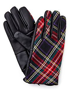 Plaid Glove