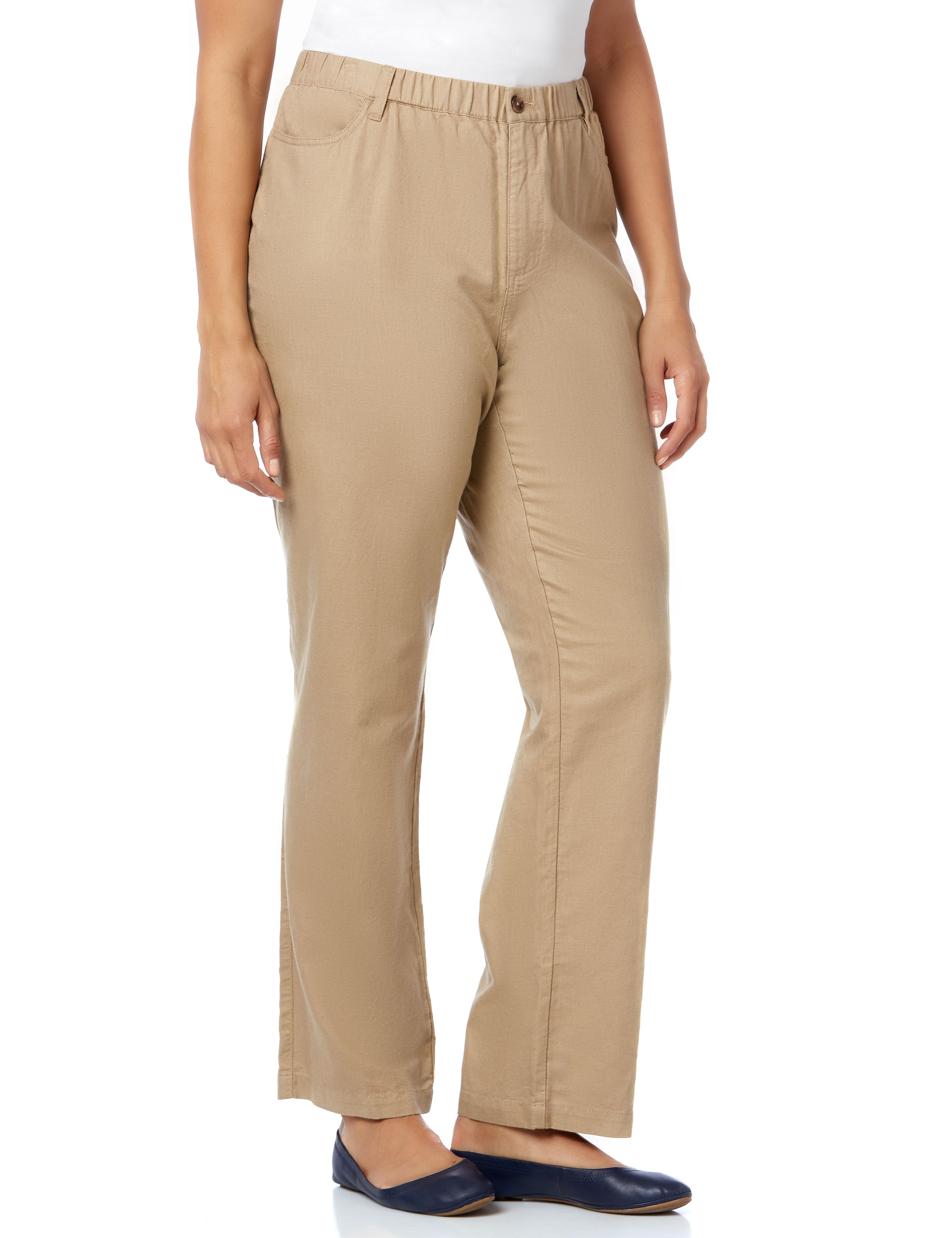 Linen Pant 1088404 LINEN PANT WITH BACK PATCH MP-300092442