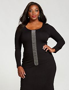 Curvy Collection Waterfall Top