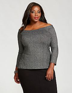Curvy Collection Moonbeam Top