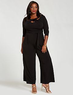 Curvy Collection Enamored Jumpsuit