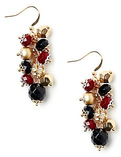 Night Mood Cluster Earrings
