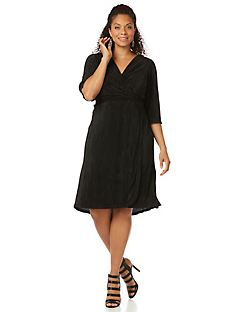 Nocturne Wrap Dress