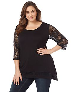Luxe Lace Top