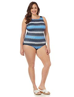 Ride The Waves Tummy Control Swimsuit
