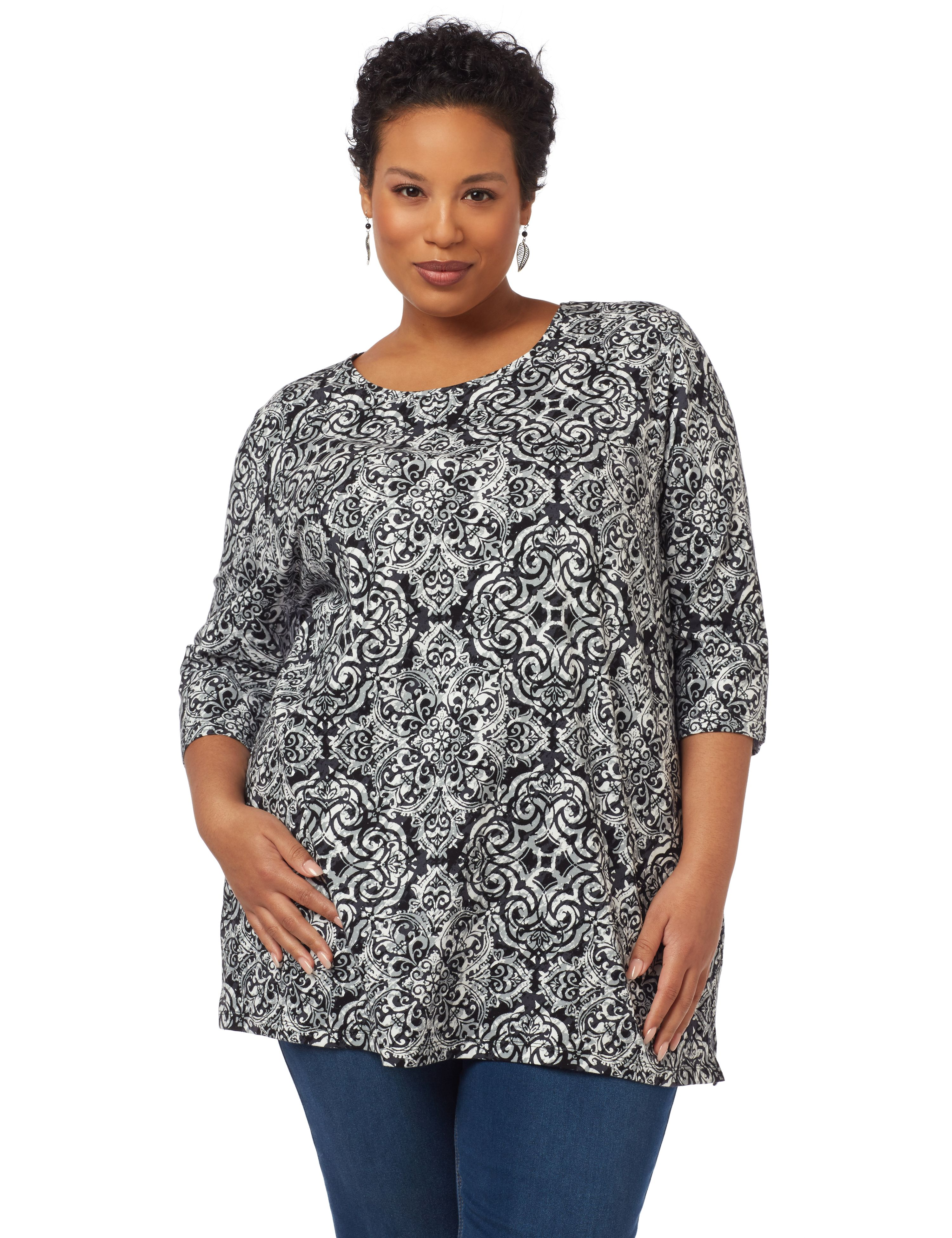 Pick Of Print Easy Fit Tee 1090968 BLURRY DOT A/O PRINT MP-300095144