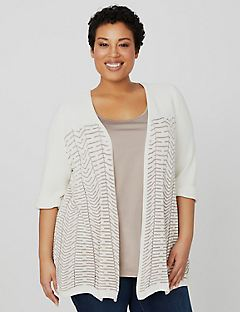 Peaceful Wave Cardigan