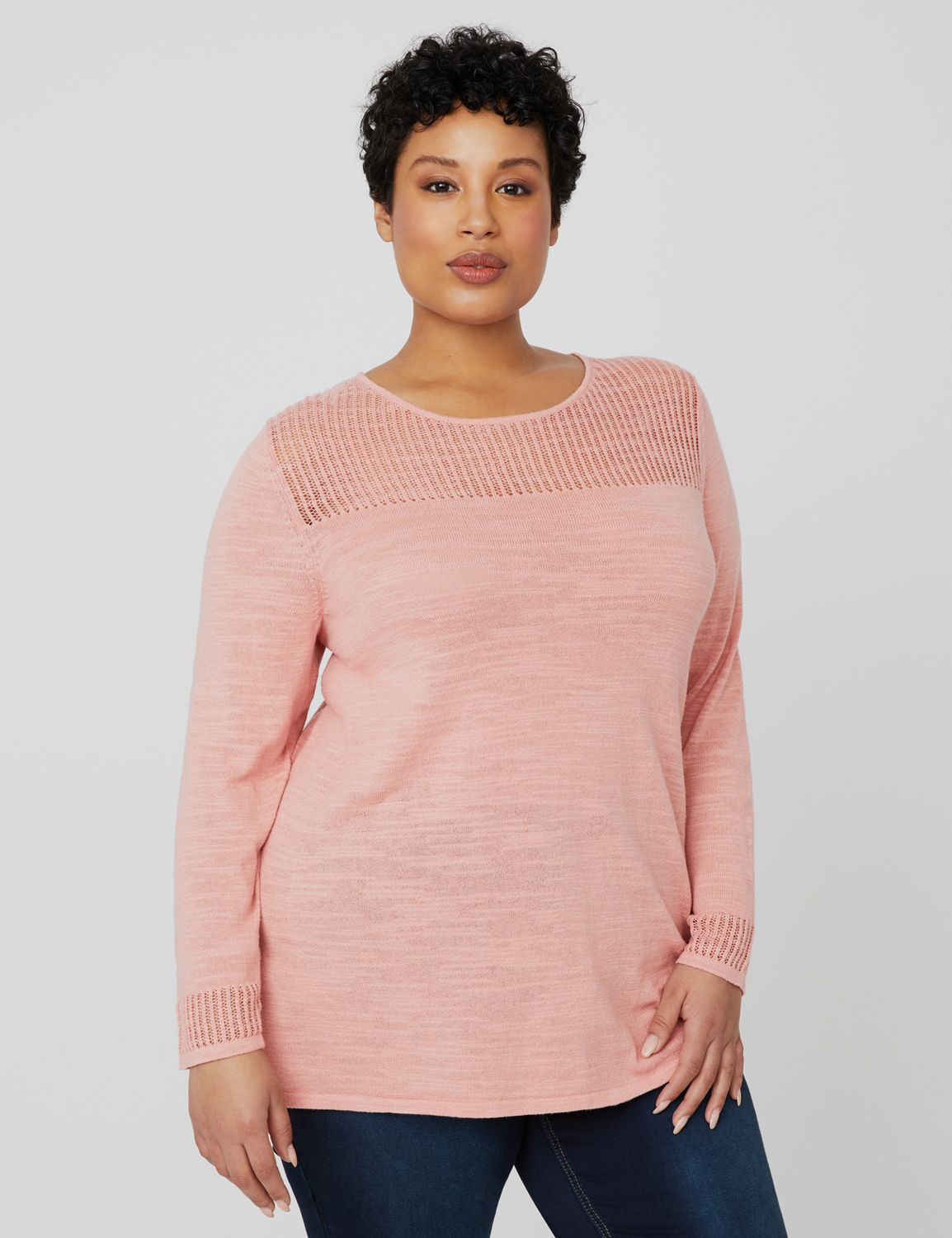 First Blush Sweater 1088270 -Back Crossover Pullover MP-300095897
