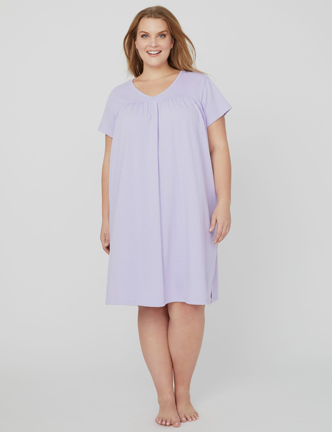 Swiss Dot Sleep Gown 1089947 Knit Swiss Dot Babydoll Gow MP-300096275