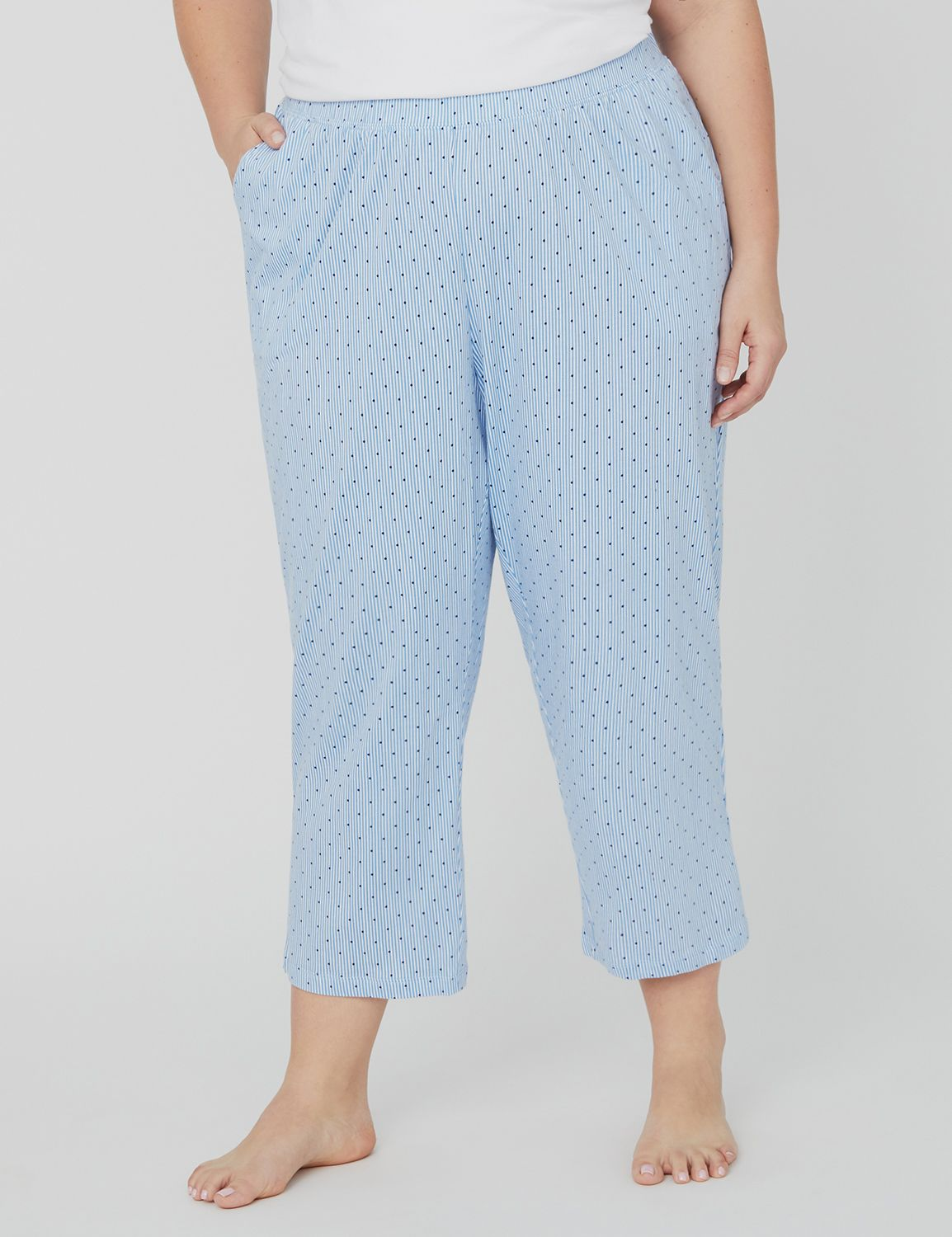 Prints Charming Sleep Capri 1088561 Printed cotton capri -21