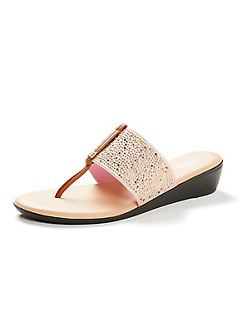 Good Soles Starlight Wedge Sandals