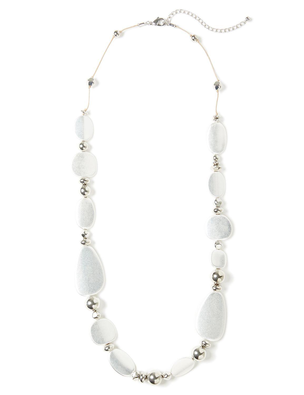 Everlasting Bead Necklace NHF Long chunky bead NK 6/29B MP-300097196