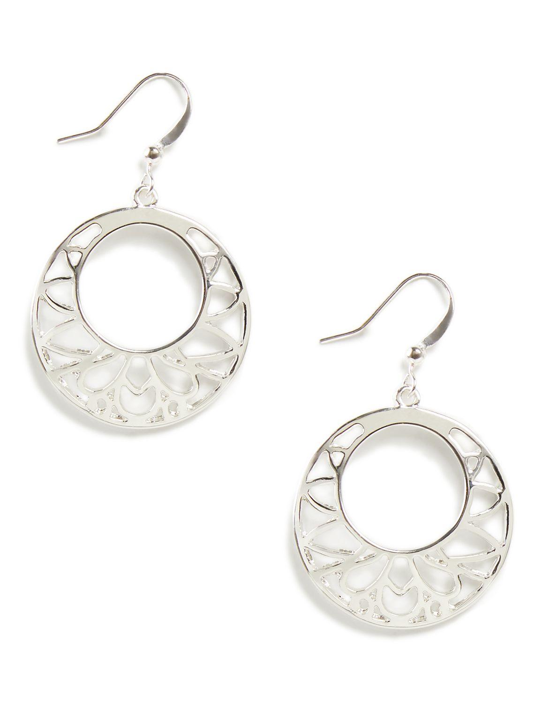 Tree of Life Earrings LM drop cutout ring PE 364019ES MP-300097677