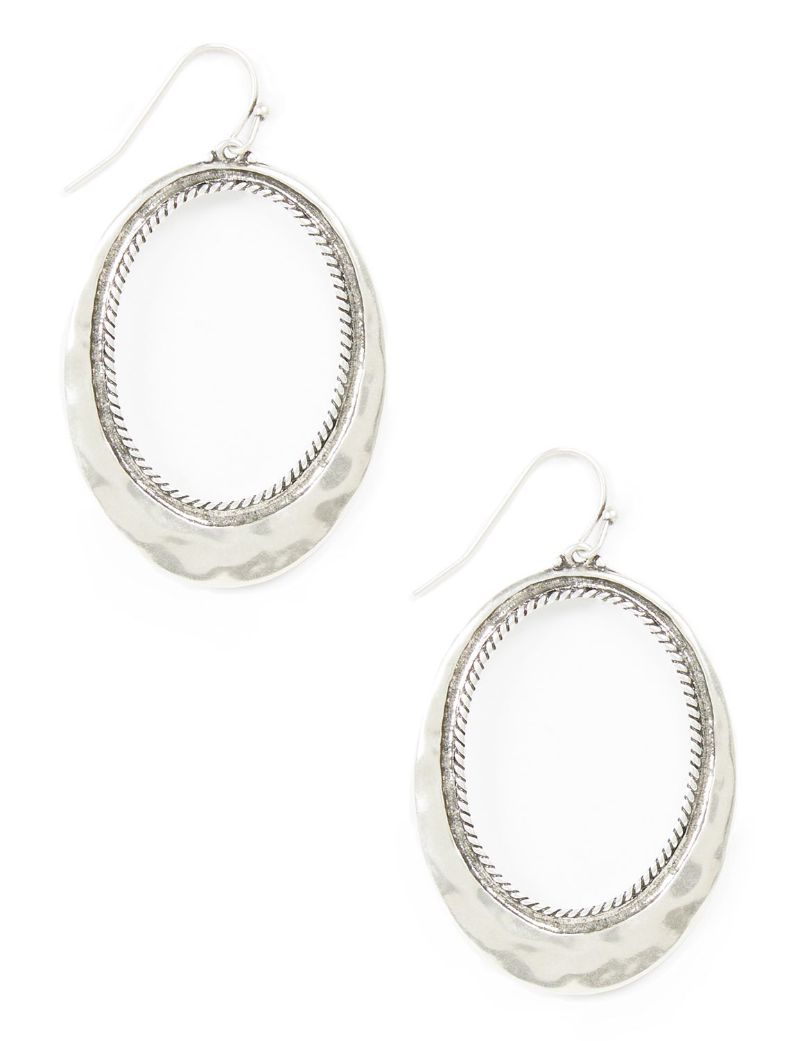 Lush Sunlight Earrings CB Drop hmmrd oval ring PE 8/9O MP-300097190