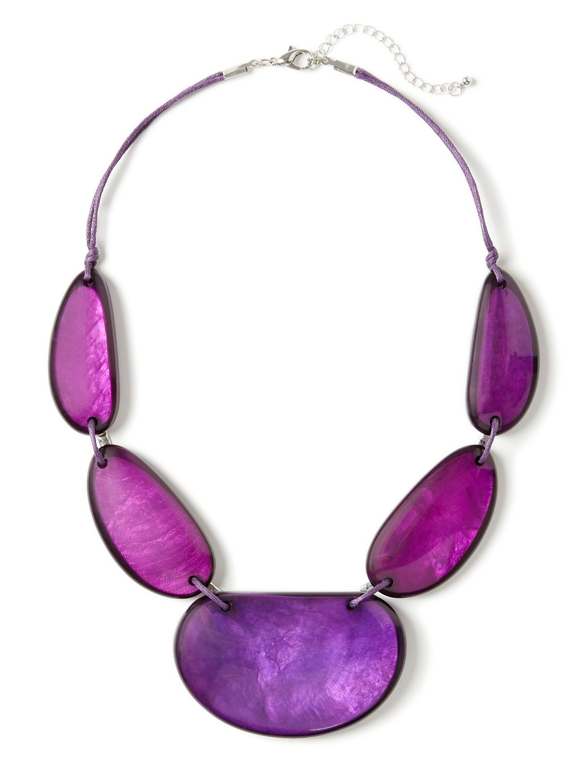 Skyline Drive Necklace LM Short limabean purp NK 723414NP MP-300097708