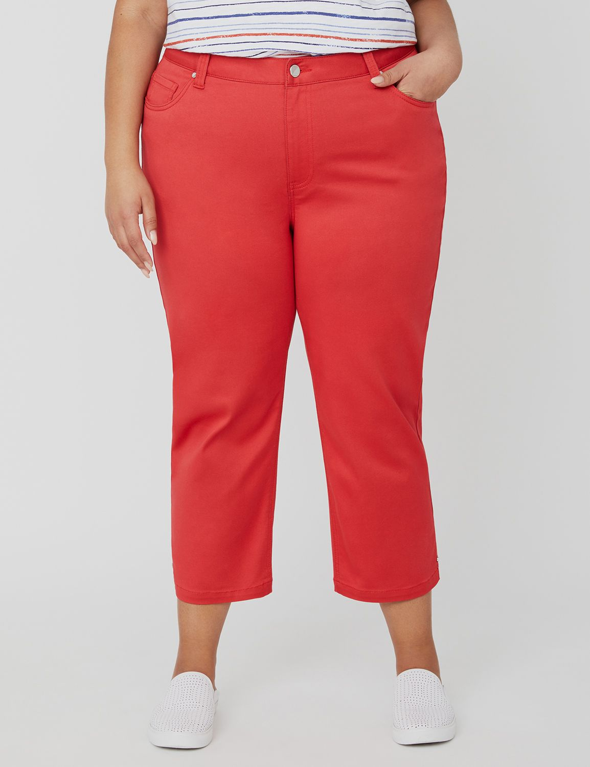 Sateen Stretch Capri 1091166 SATEEN CAPRI - 21