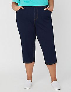 The Knit Jean Capri