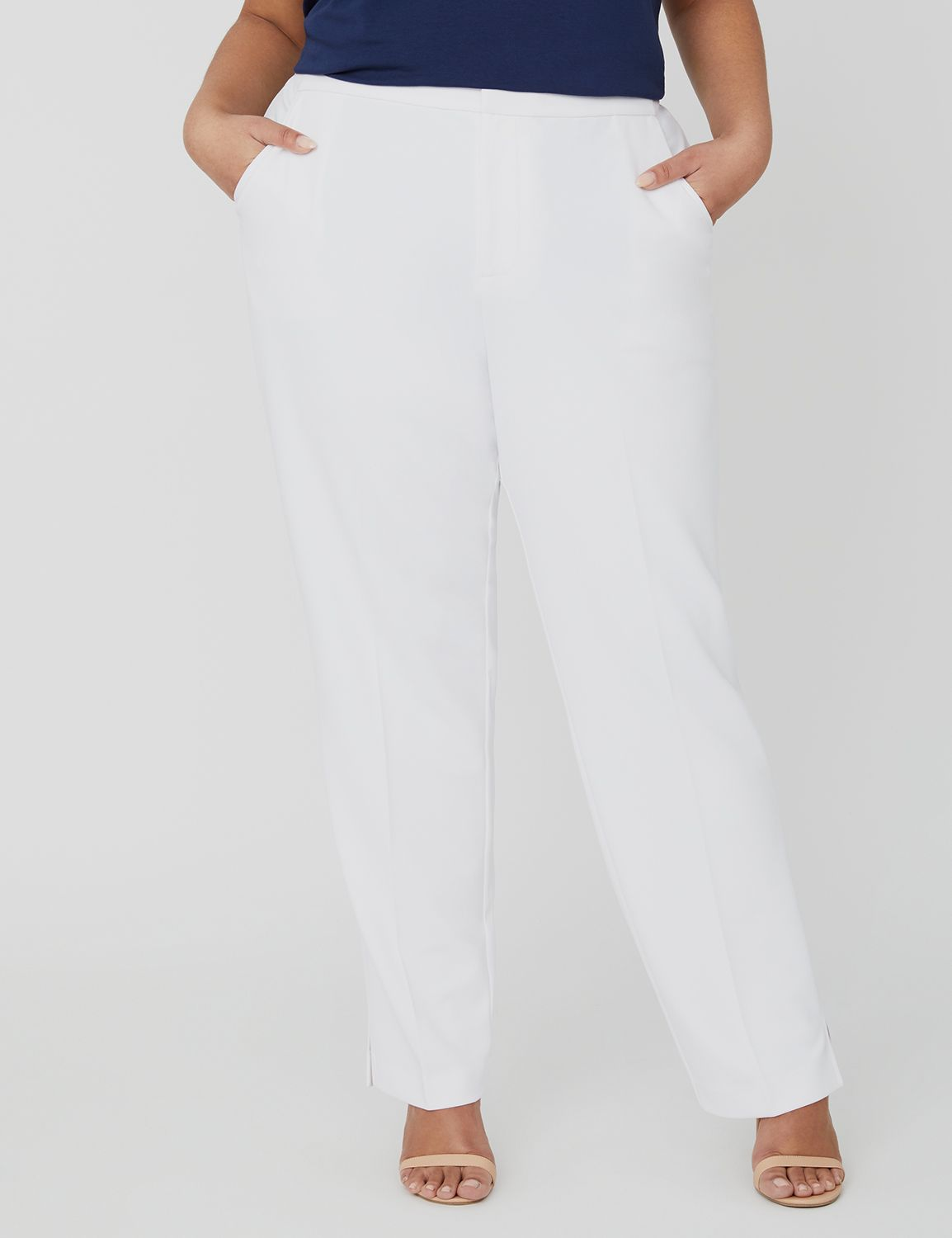 Black Label Soft Crepe Pant 1088525 Soft Crepe Pant with Elasti MP-300098650