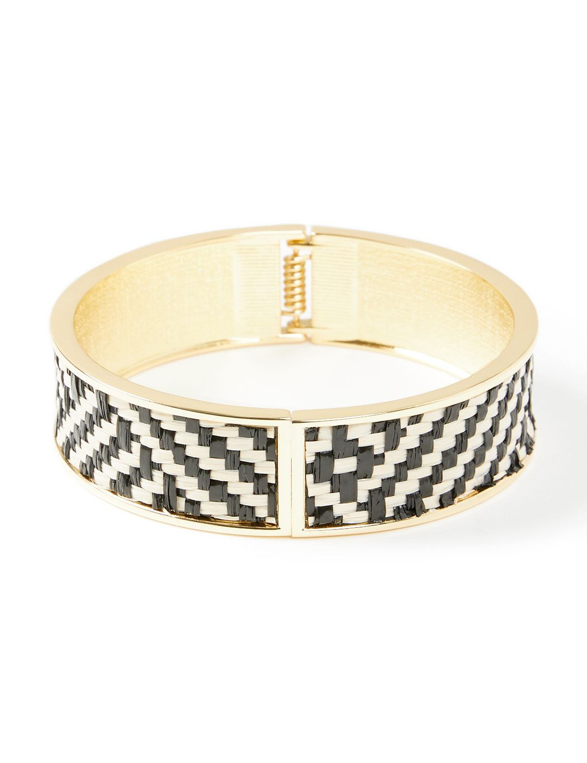 Woven Bangle Bracelet NBF Hinge woven bangle BR KT0721B19 MP-300099220