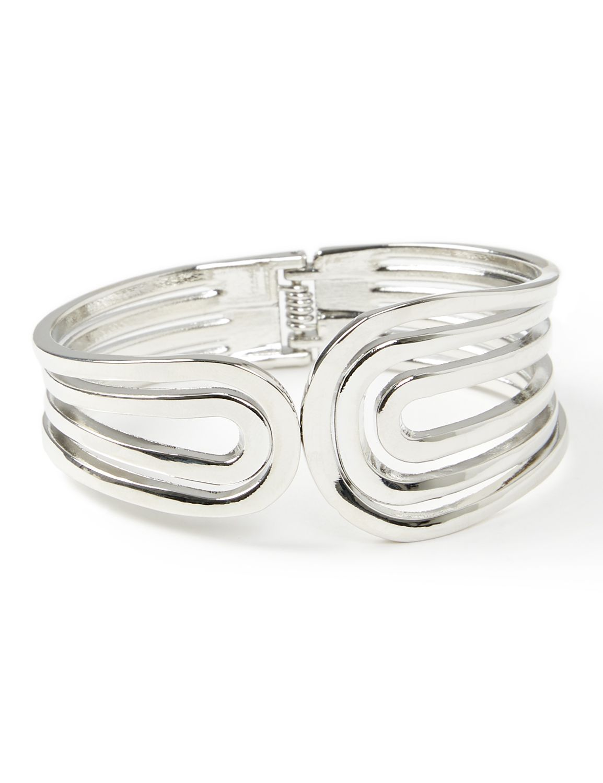 Swirl Cuff Bracelet NHF asym hinge cuff BR KT0317B30 MP-300099222