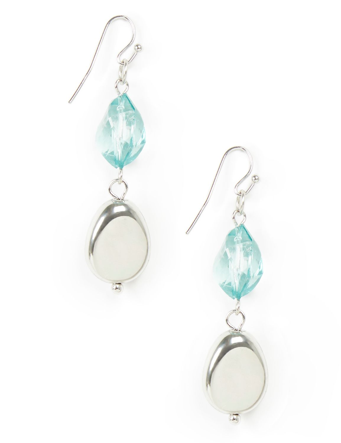 Slow Waltz Earrings CB drop facet and smooth bd KT0717E MP-300099208