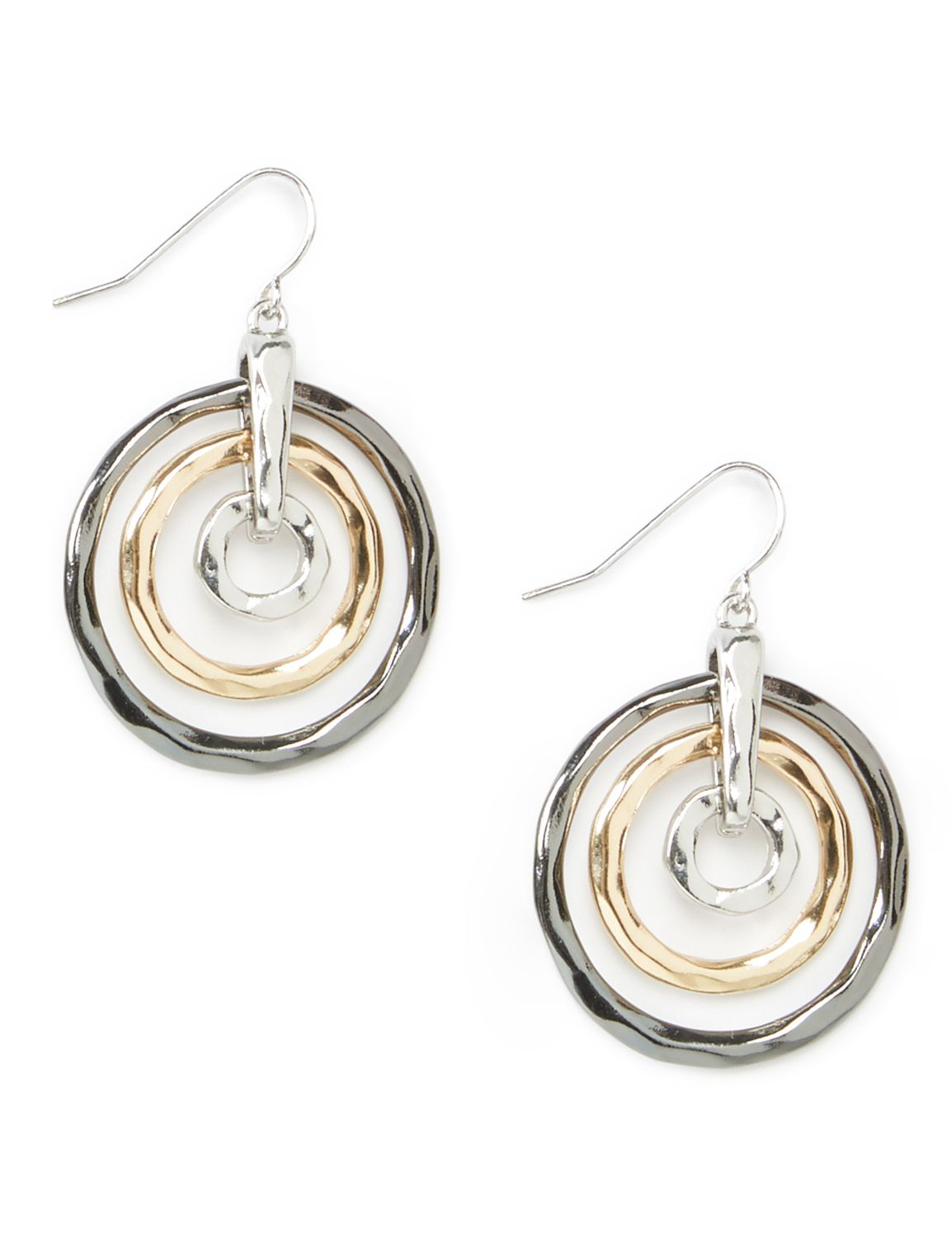 Circe Maze Earrings WU 3ring tritone PE KT0717E29 MP-300099411