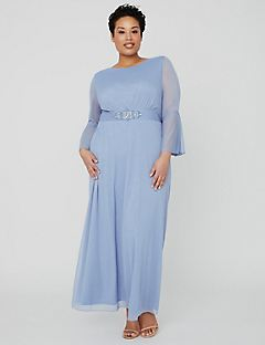 Romans plus size formal dresses