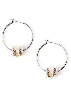 Sparkling Hoop Earrings