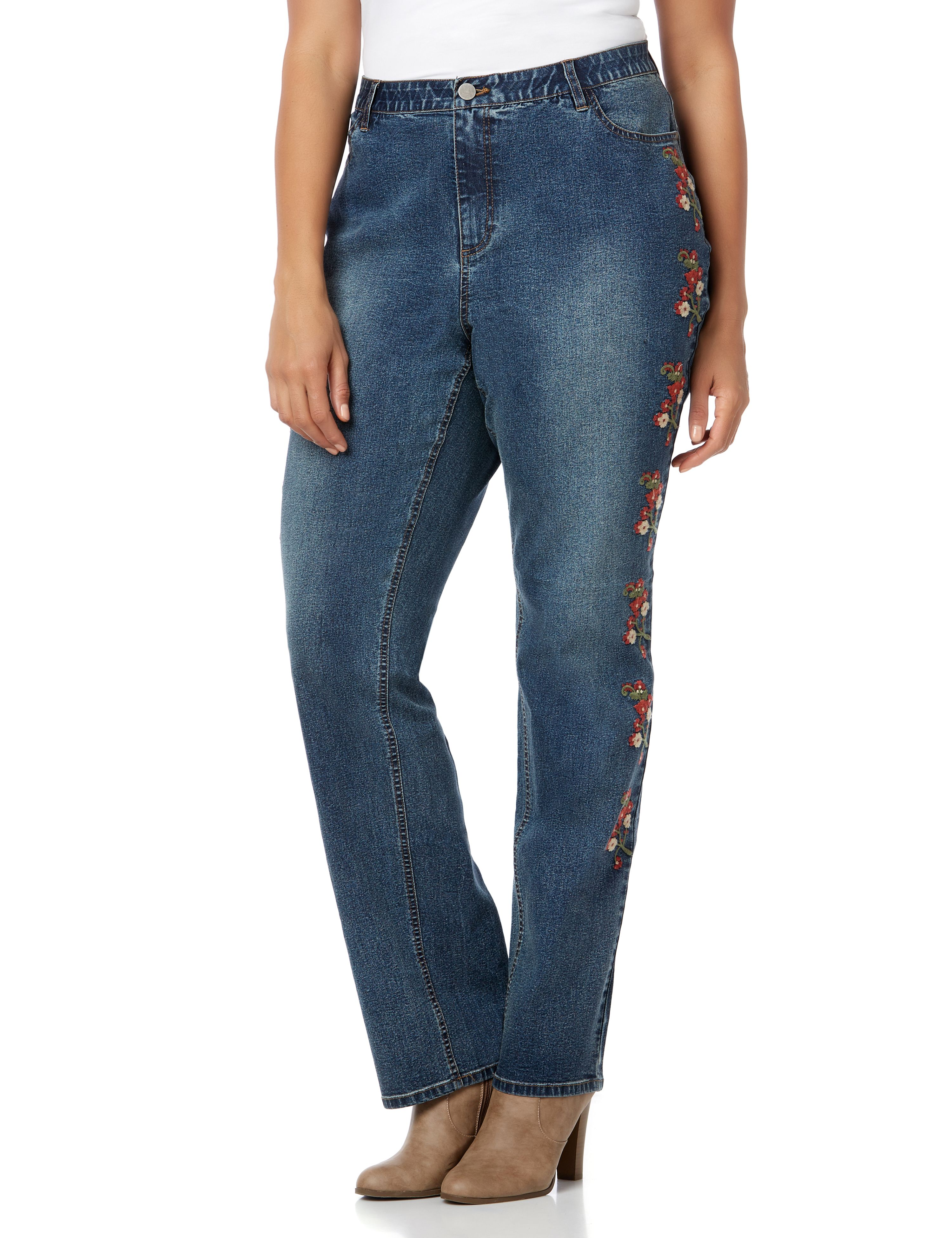 Posy Outlook Jean 1087805 BOYFRIEND JEAN WITH EMBROID MP-300098953