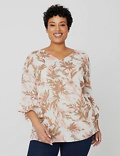 Natural Floret Blouse