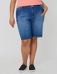 Timeless Denim Short