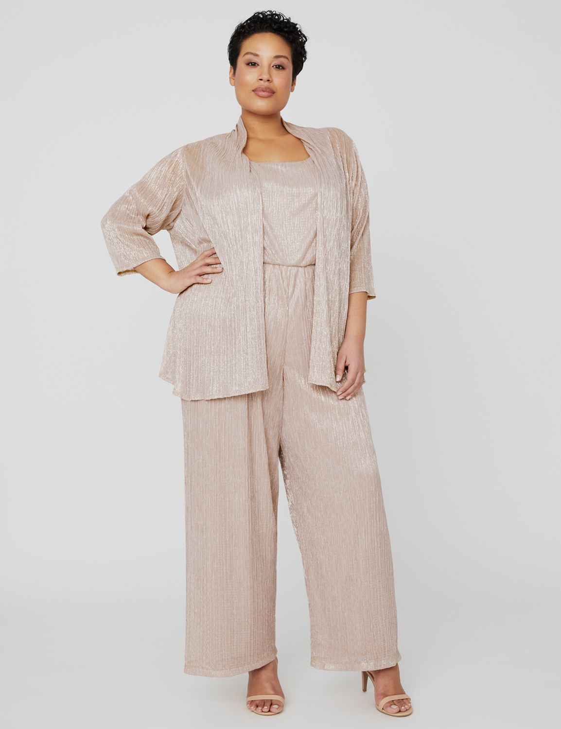 Shimmer Jumpsuit with Jacket 1090989 Jumpsuit with Jacket (94982 MP-300099382