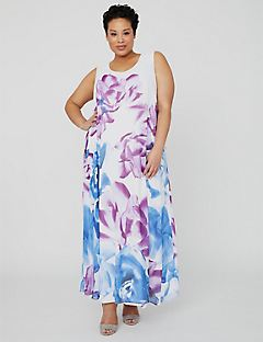 Black Label Rosebloom Maxi Dress