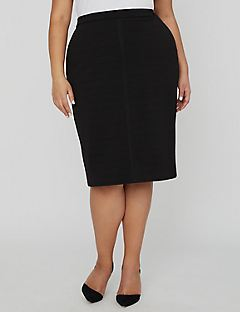 Curvy Collection Bandage Skirt