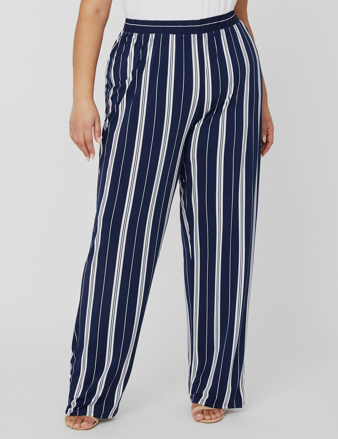 Black Label Straight Leg Pant 1091368 ITY Printed Stripe Straight MP-300100155
