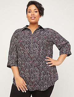 Gallery Signature Crepe Popover Top