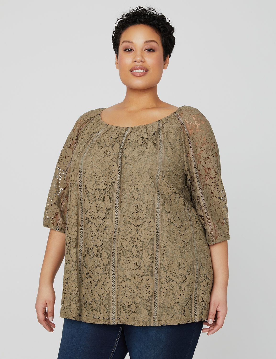 Vista Cove Lace Top 1089762 Nuance Crochet Lace Top MP-300098887