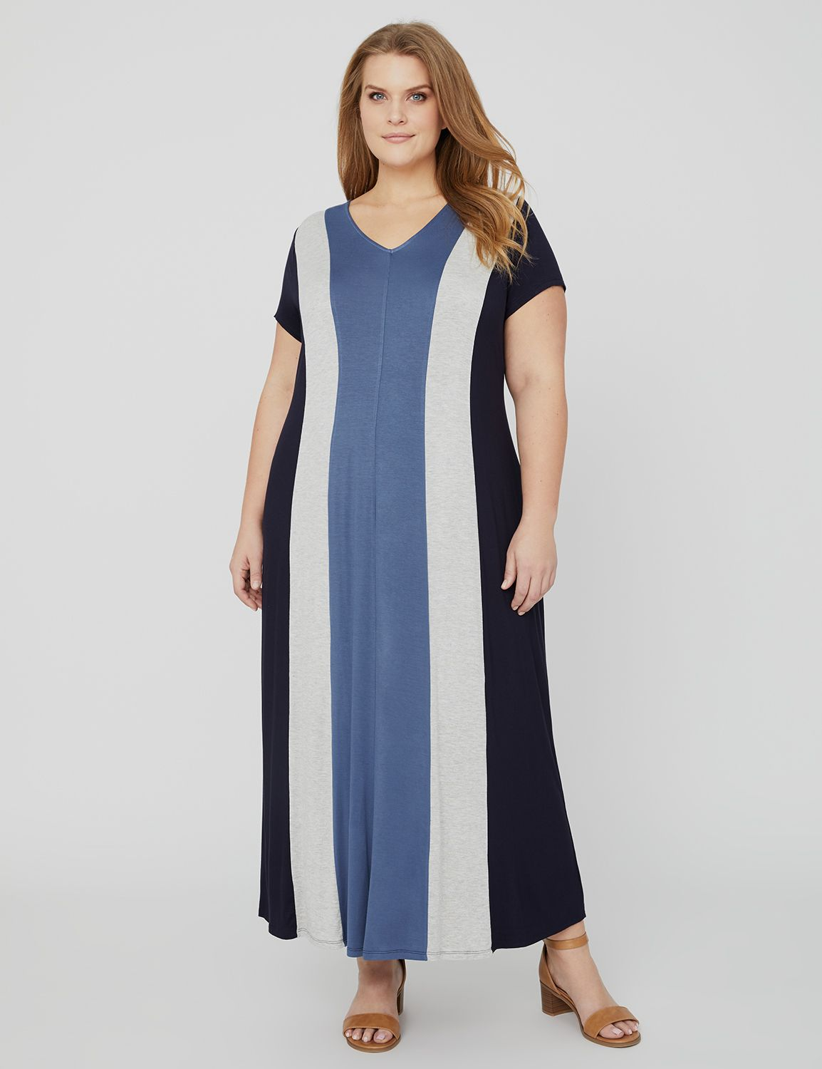 Midnight Colorblock Maxi 1090230 Spense Color Block Fit and MP-300100662