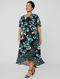 Flutter Posy Midi Dress