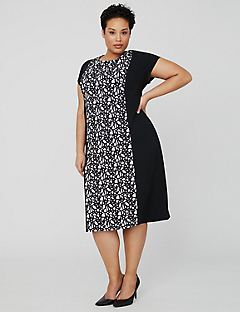 Mirage Crepe Dress
