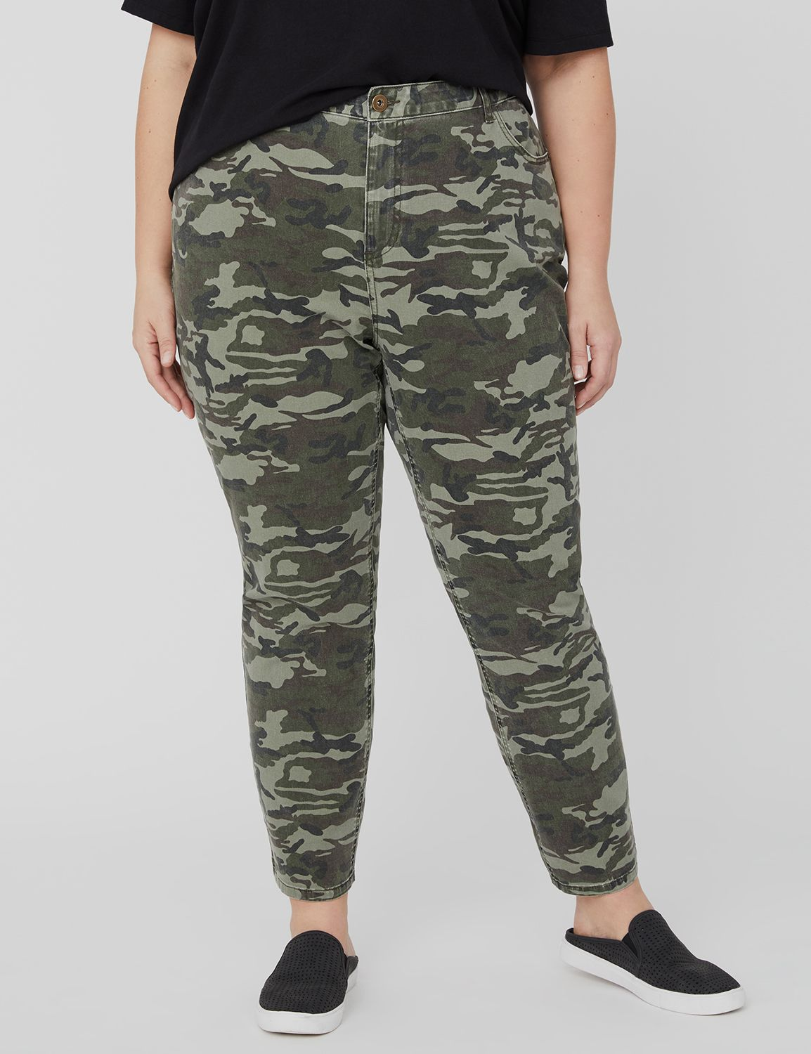 The Jegging in Camo 1088089 PRINTED CAMO 5 POCKET SLIM MP-300101544