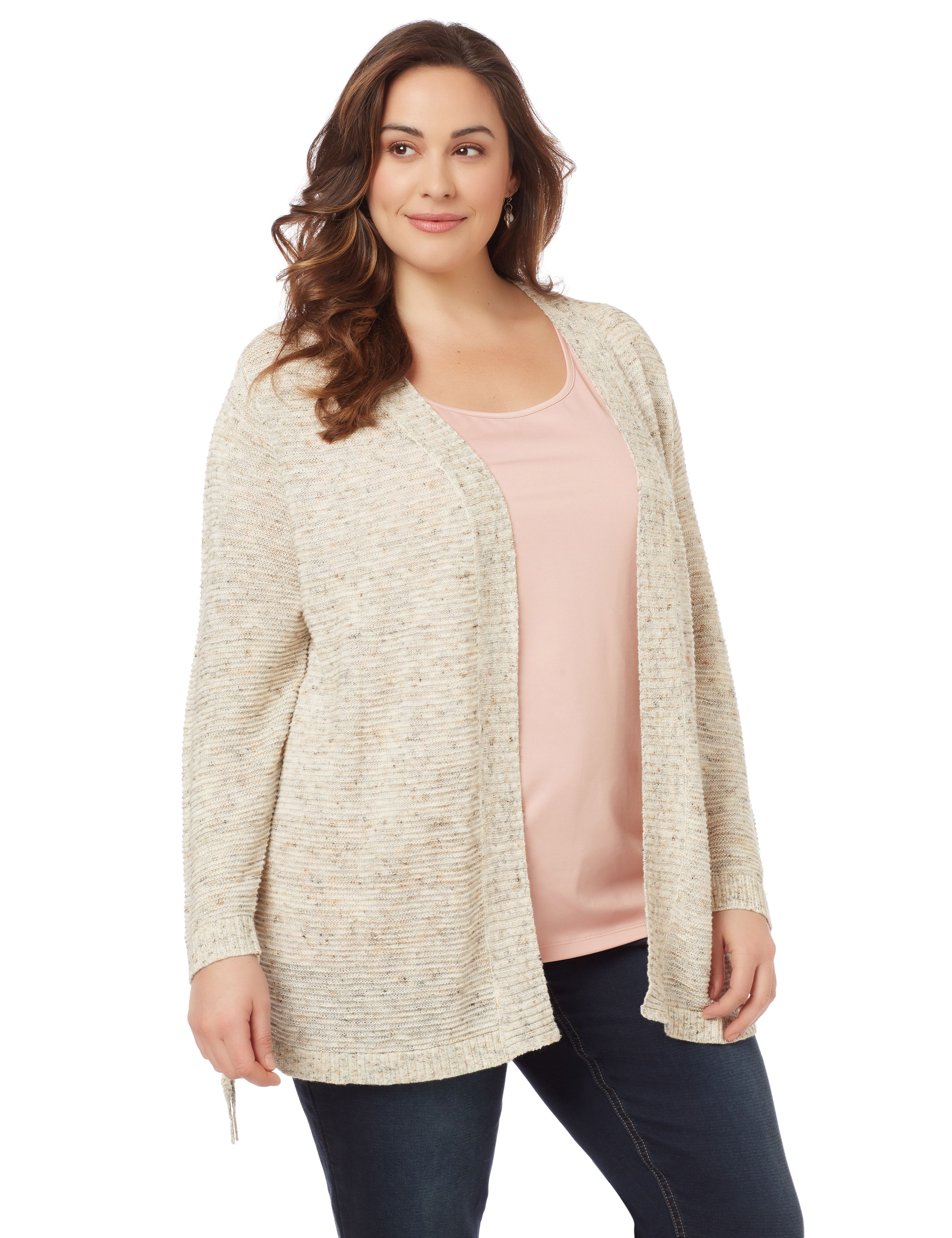 Snowflake Cardigan 1092757 PointelleBackCardigan MP-300101207
