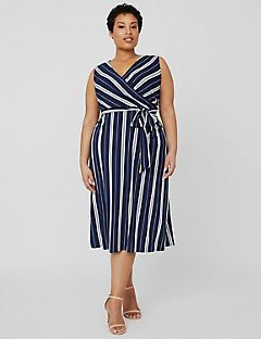 Black Label Striped Dress