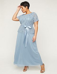 61b9601978 Plus Size Mother Of The Bride   Groom Dresses
