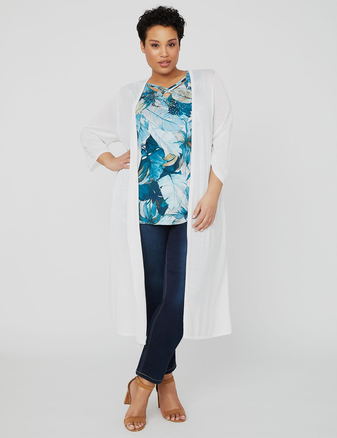 Ocean Waves Cardigan 1087803 Convertible Cardigan MP-300098481