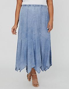 Boardwalk Tencel Gore Skirt