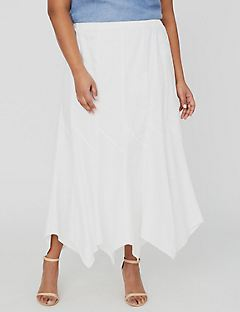 Boardwalk Linen Gore Skirt